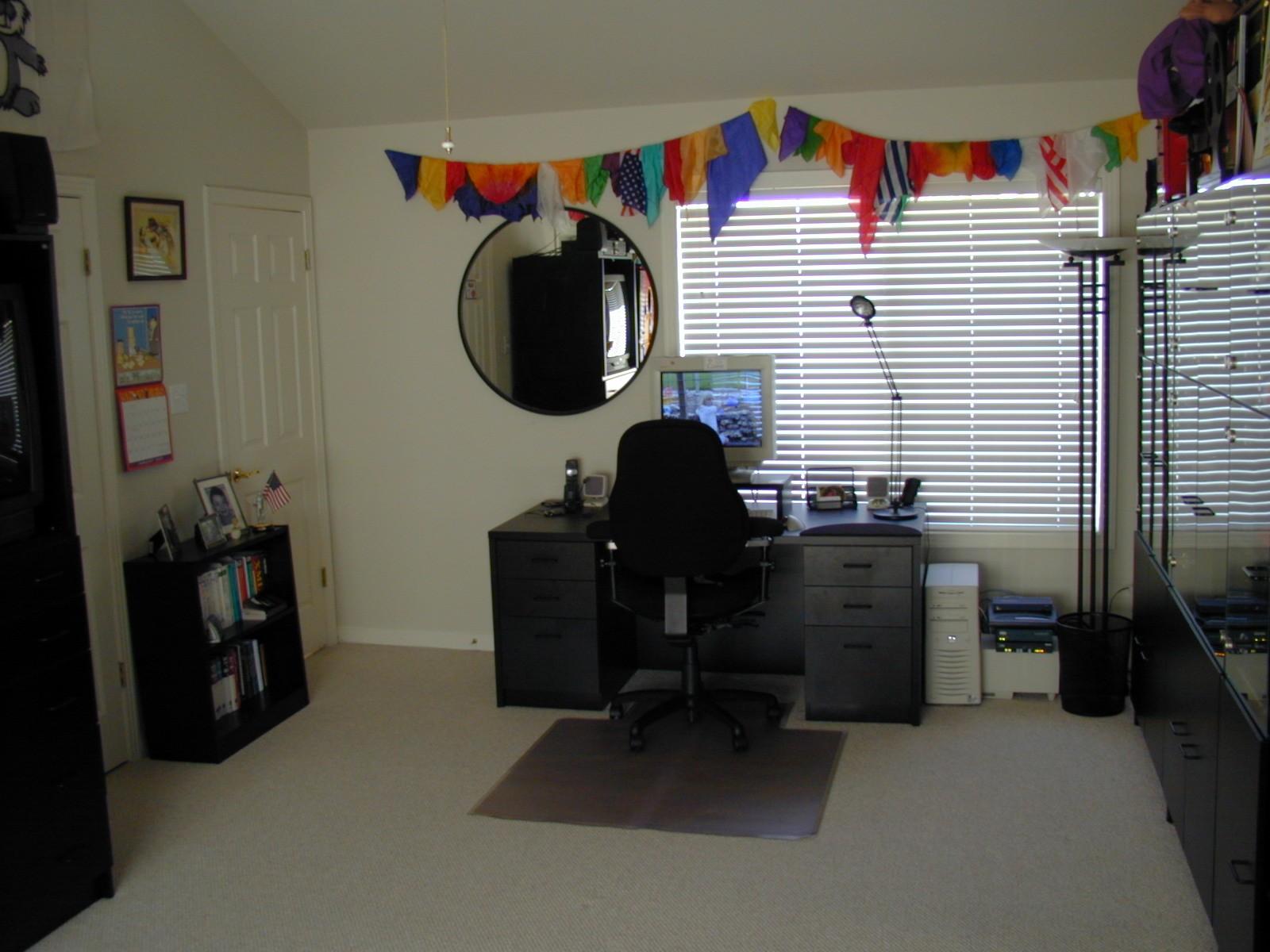 Desk and Silks