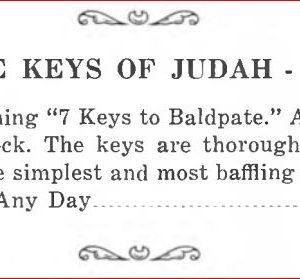 stuart-judah-keys-of-judan-ad-max-holden-catalog-17-1950