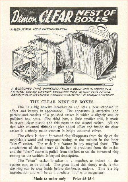 demon-clear-nest-of-boxes-ad-davenports-catalog-1956