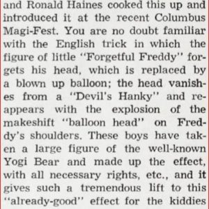 Warren-Hamilton-forgetful-yogi-bear-ad-linking-ring-1962-03
