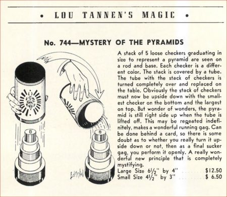 don-potts-mystery-of-the-pyramids-ad-tannens-catalog-03-1960