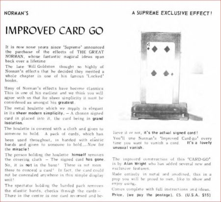supreme-magic-normas-inproved-card-go-ad-magigram-1974-12