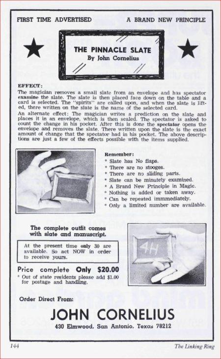 john-cornelius-pinnacle-slate-ad-linking-ring-1976-01