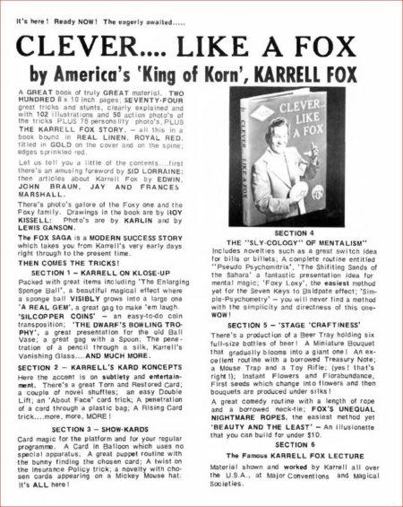 karrell-fox-clever-like-a-fox-ad-magigram-1976-06