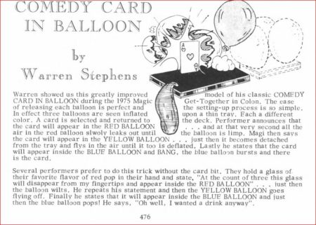 warren-stephens-comedy-card-in-balloon-ad-abbotts-catalog-21-1976