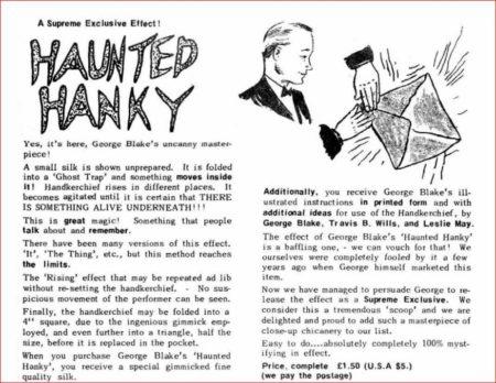 george-blake-supreme-haunted-hanky-ad-1974