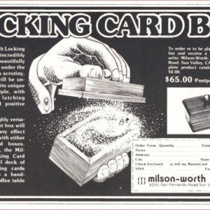 milson-worth-locking-card-box-ad-genii-1982-05