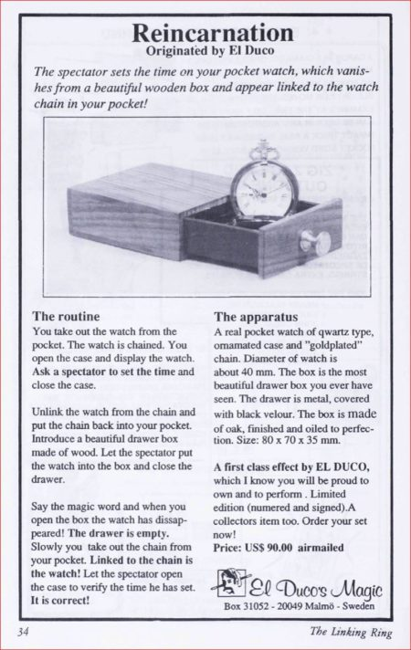 el-duco-reincarnation-ad-linking-ring-1989-03