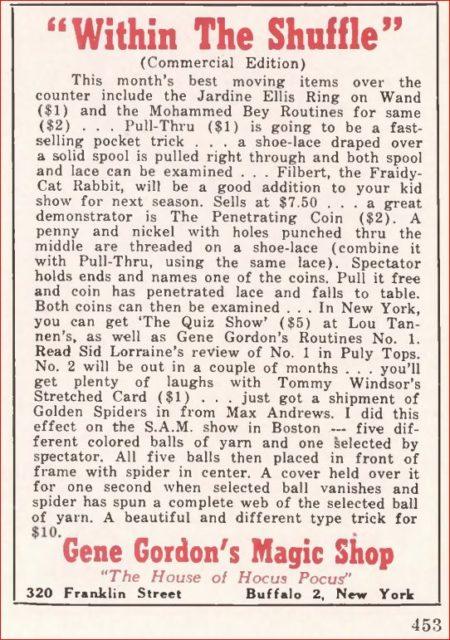 gene-gordon-fraidy-cat-rabbit-ad-genii-1952-08