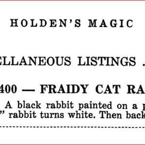 max-holden-fraidy-cat-rabbit-ad-max-holden-catalog-17-1950