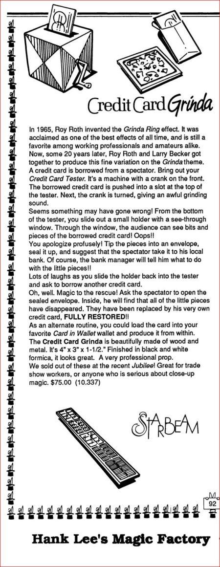 rar-magic-credit-card-grinda-ad-hank-lee-catalog-08-1990