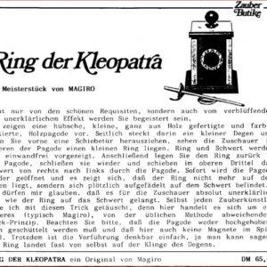 magiro-cleopatras-ring-ad-zauber-brief-1987-06