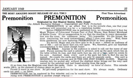 eddie-joseph-premonition-ad-tops-1949-01