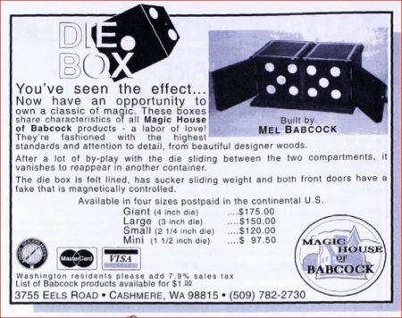 mel-babcock-die-box-ad-linking-ring-1993-08