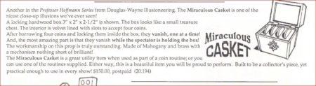 douglas-wayne-miraculous-coin-casket-ad-genii-1992-05