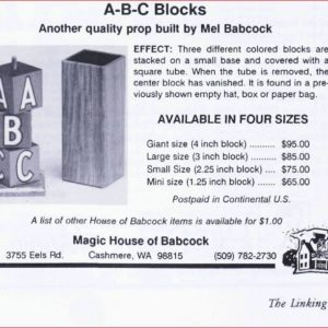 mel-babcock-abc-blocks-ad-linking-ring-1992-10