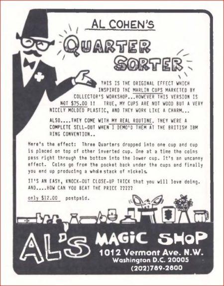 al-cohen-quarter-sorter-ad-genii-1986-03
