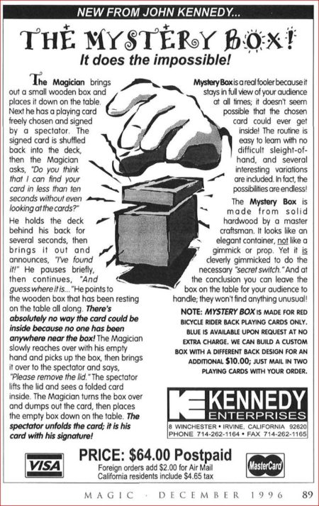 john-kennedy-mystery-box-ad-magic-1996-12