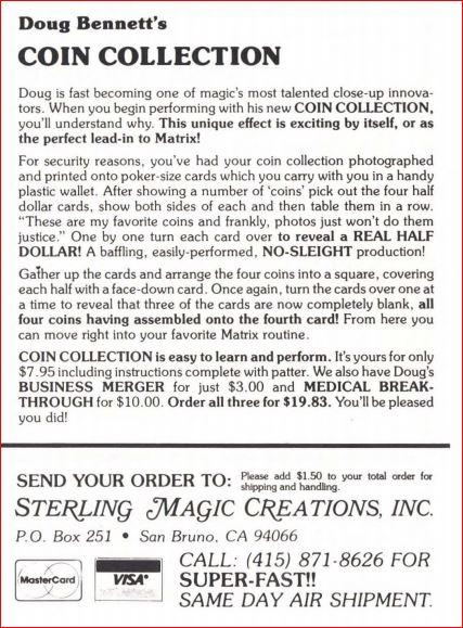 doug-bennett-coin-collection-ad-1983