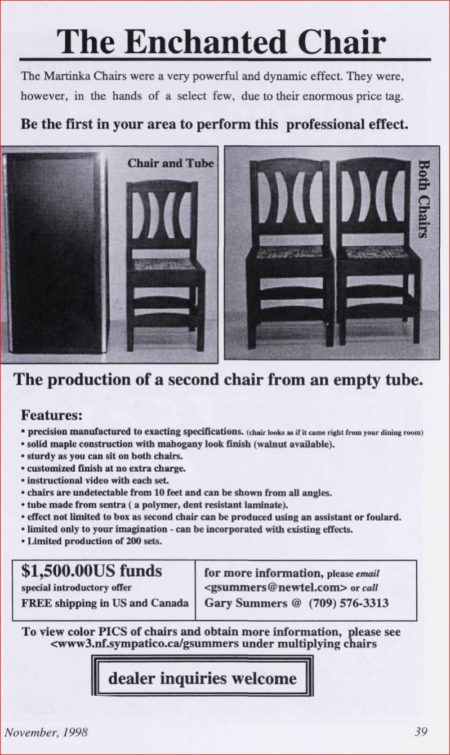 gary-summers-enchanted-chair-ad-linking-ring-1998-11