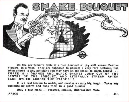 karell-fox-snake-bouquet-ad-1956
