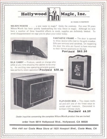 milson-worth-fantastic-frame-ad-1978