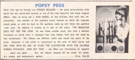 Popsy Pegs - Tannens - 1969