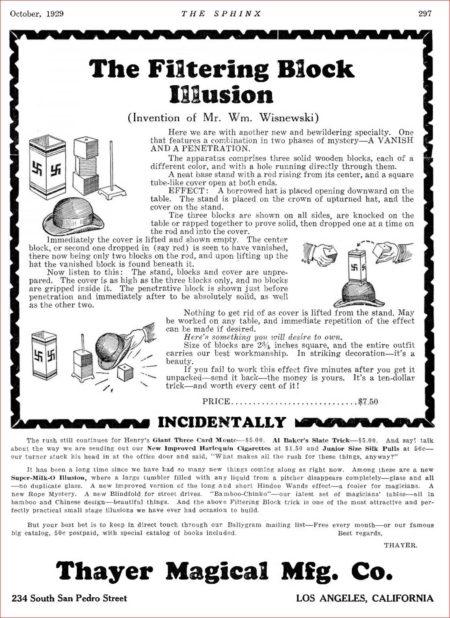 thayer-filtering-block-illusion-ad-sphinx-1929-10