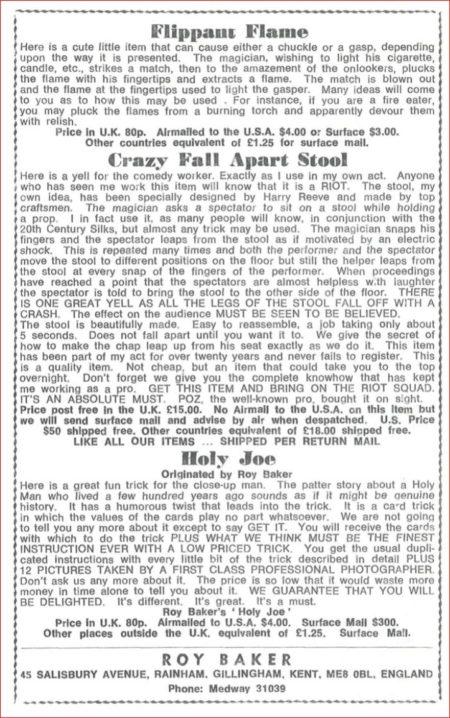 roy-baker-crazy-fall-apart-stool-ad-1974