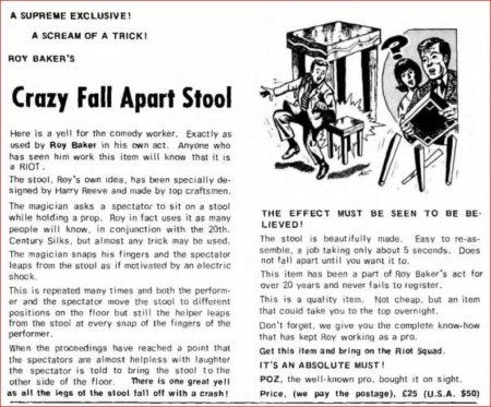 roy-baker-supreme-crazy-fall-apart-stool-ad-1977