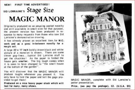 sid-lorraine-magic-manor-ad-magigram-1975-11