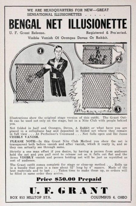 uf-grant-bengal-net-ad-1953
