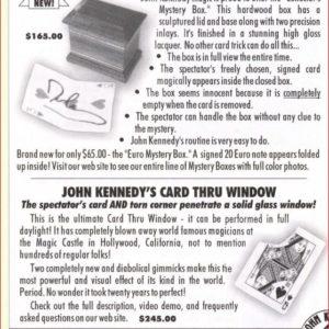 john-kennedy-collectors-mystery-box-ad-magic-2002-10