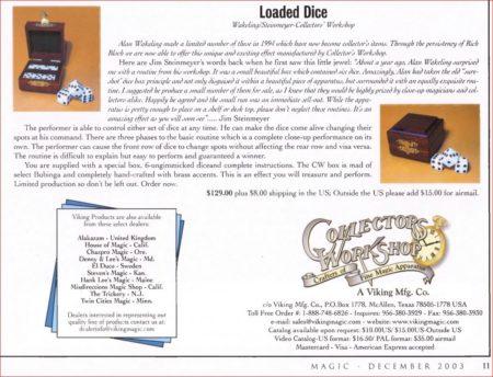 cw-loaded-dice-ad-magic-2003-12