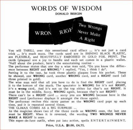 donal-bergin-words-of-wisdom-ad-1988