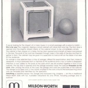 milson-worth-orange-cabinet-ad-1980
