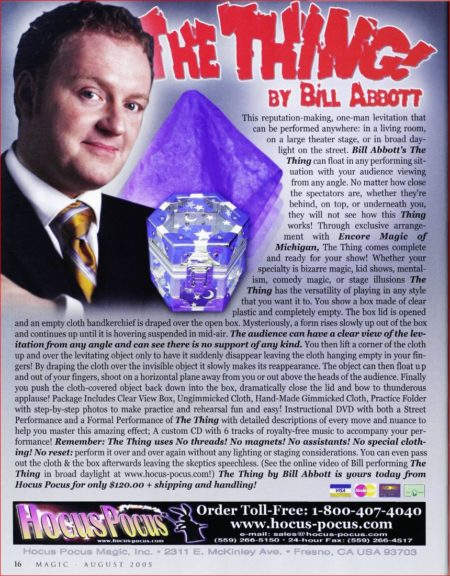 bill-abbott-the-thing-ad-magic-2005-08