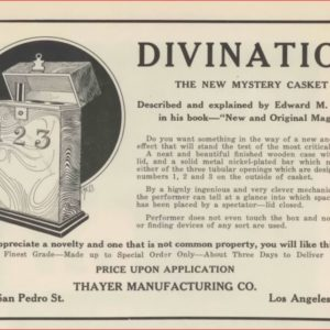 thayer-divination-ad-magical-bulletin-1923-04