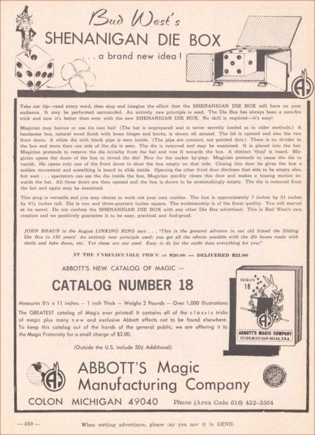 bud-west-die-box-ad-genii-1971-08