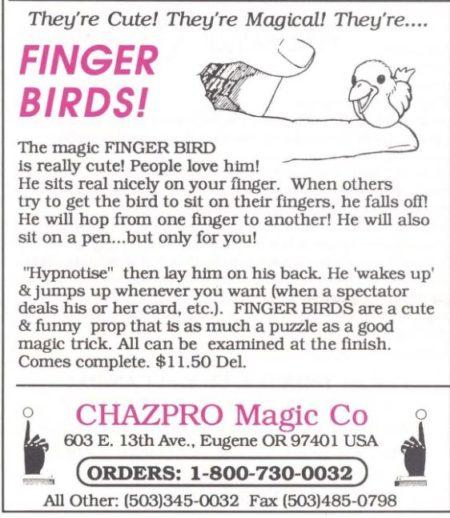 chazpro-finger-birds-ad-1992