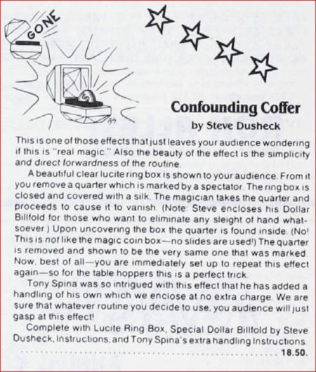 steve-dusheck-confounding-coffer-ad-linking-ring-1984-04
