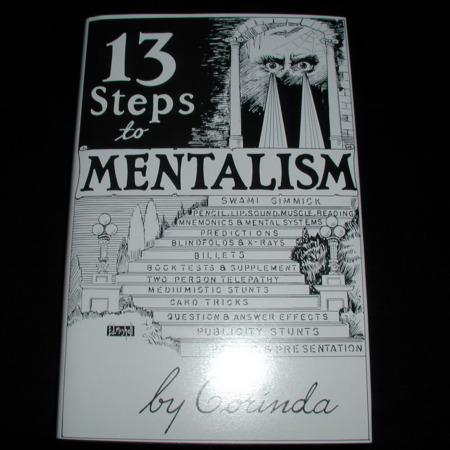 13 Steps to Mentalism by Tony Corinda