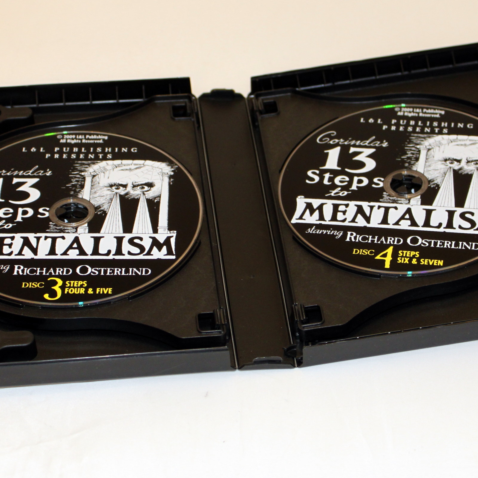 13 Steps to Mentalism DVD by Richard Osterlind