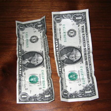 Incomparable $2 Bill to Singles to $5 by Unknown