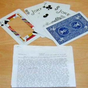 4 Jumbo Card Routines by Joe Riding