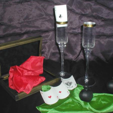 Aces and Silk Flutes by Arlen Studio