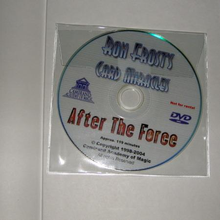 Card Miracles After The Force + DVD by Ron Frost