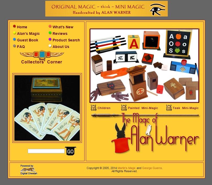 Alan Warner Magic (Classic)