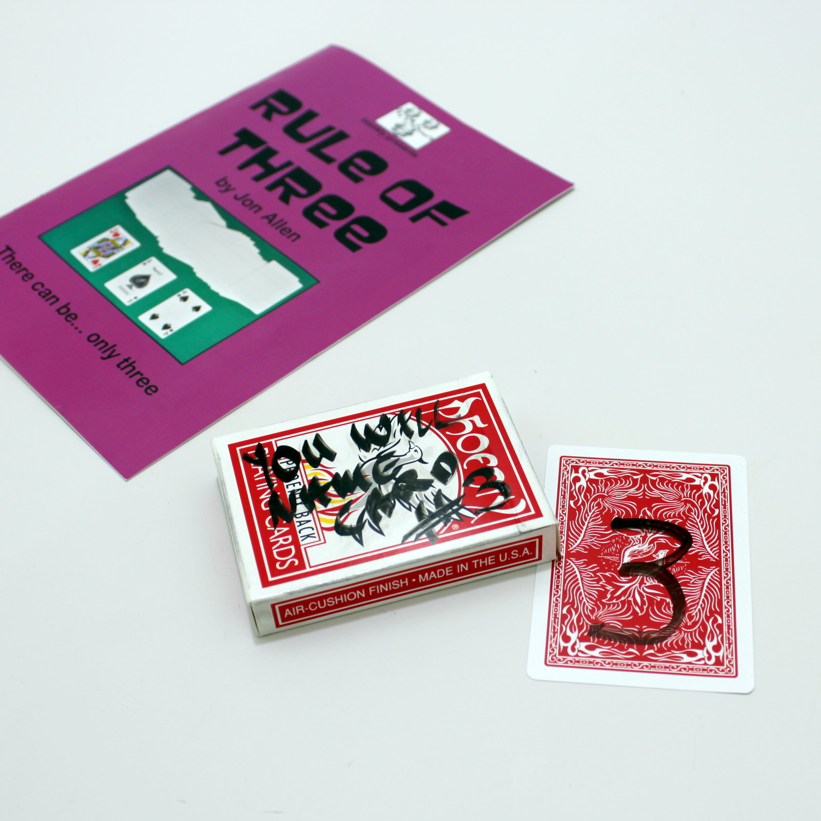 Rule of Three by Jon Alen