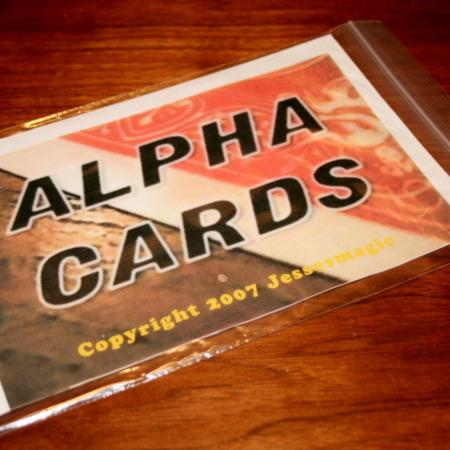 Alpha Cards by Jesse Feinberg